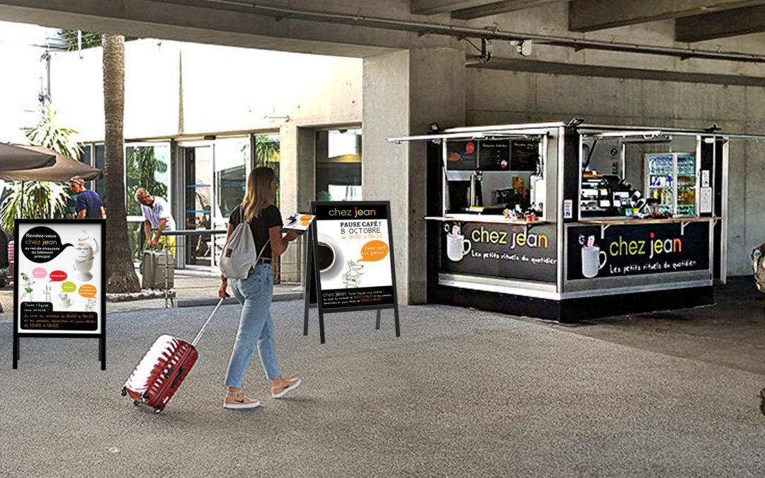 Un petit café à Nice